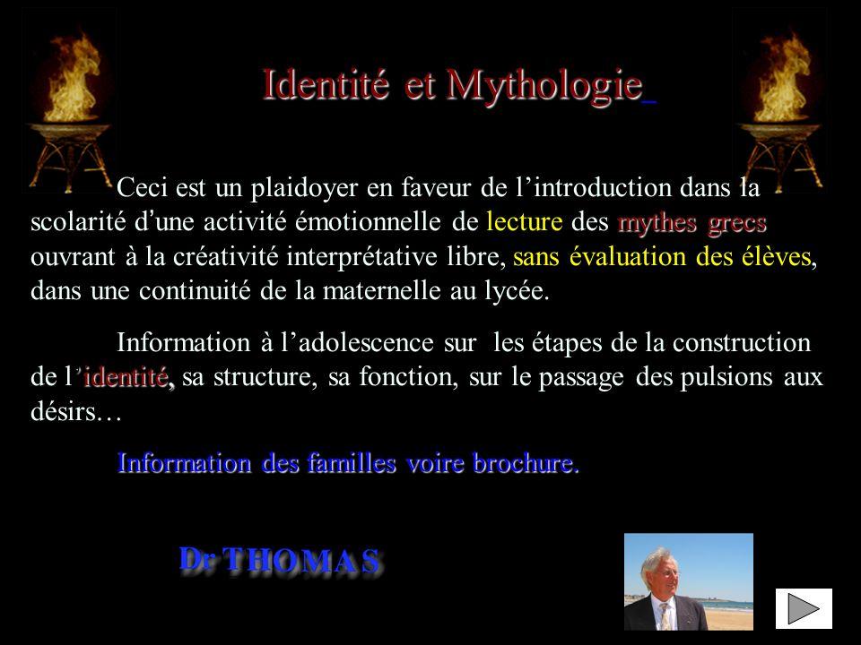 Identité et Mythologie »