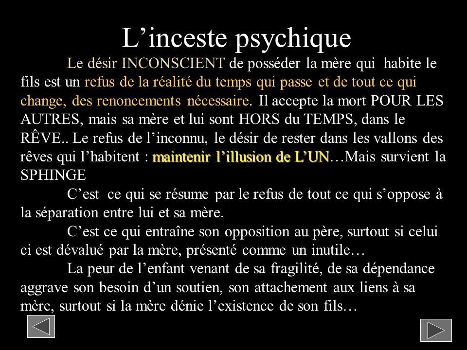 L'inceste psychique
