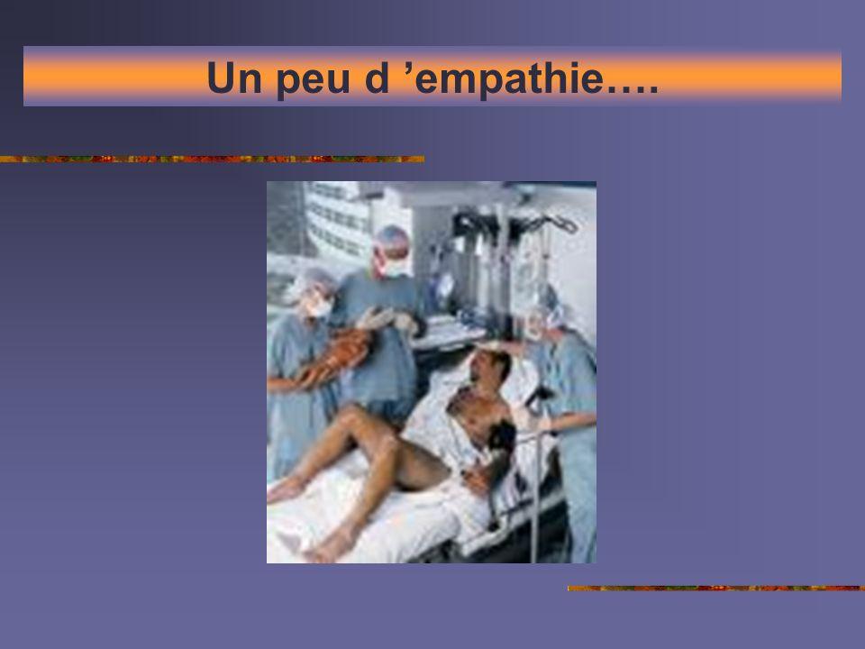 Un peu d 'empathie….