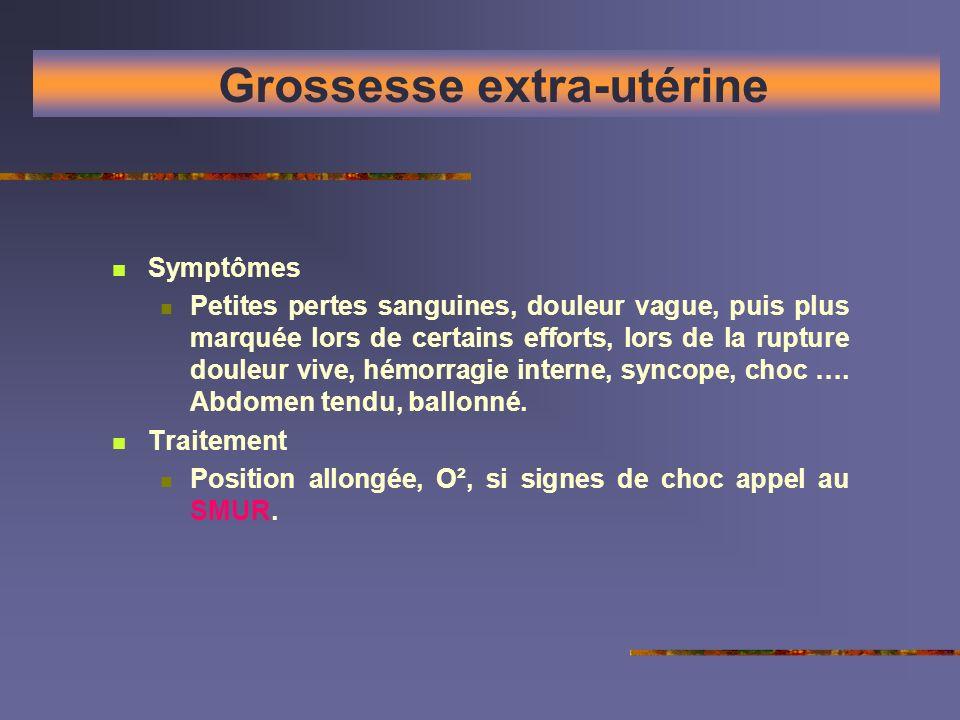Grossesse extra-utérine