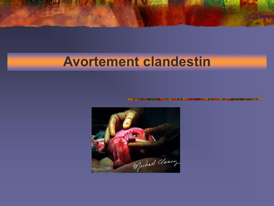 Avortement clandestin