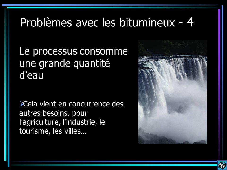 Problèmes avec les bitumineux - 4