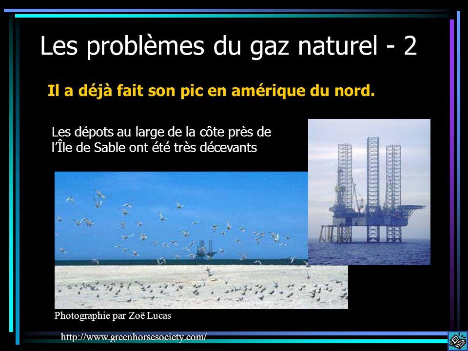 Les problèmes du gaz naturel - 2