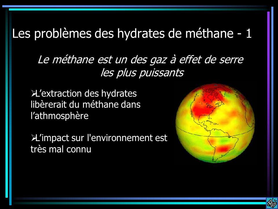 Les problèmes des hydrates de méthane - 1