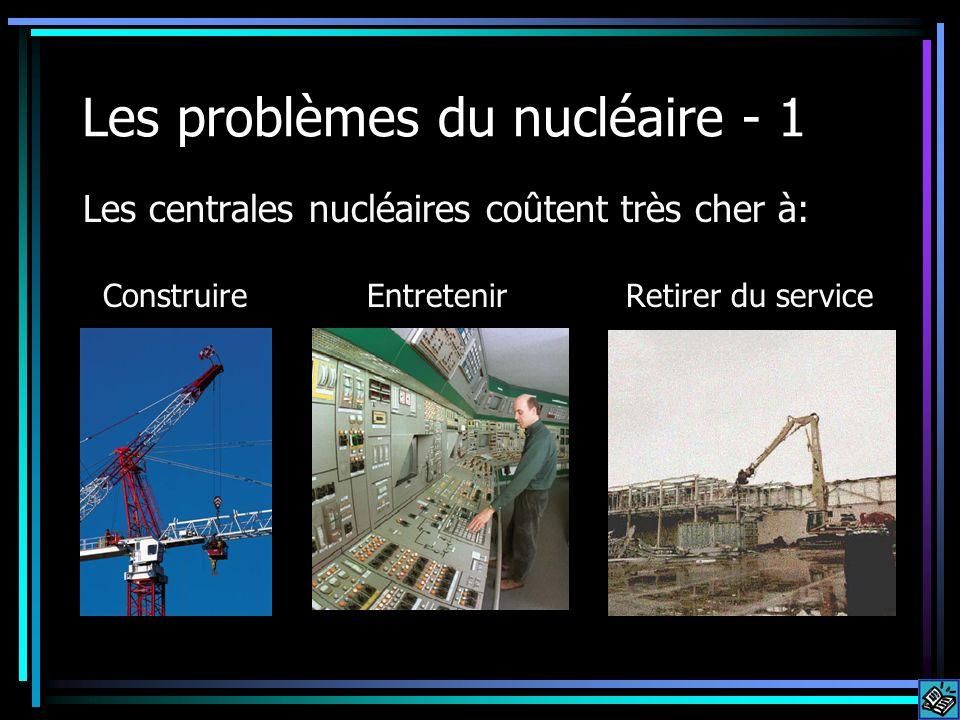 Les problèmes du nucléaire - 1