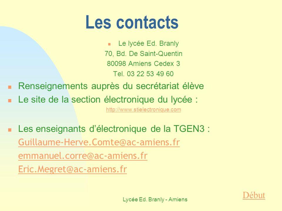 Lycée Ed. Branly - Amiens