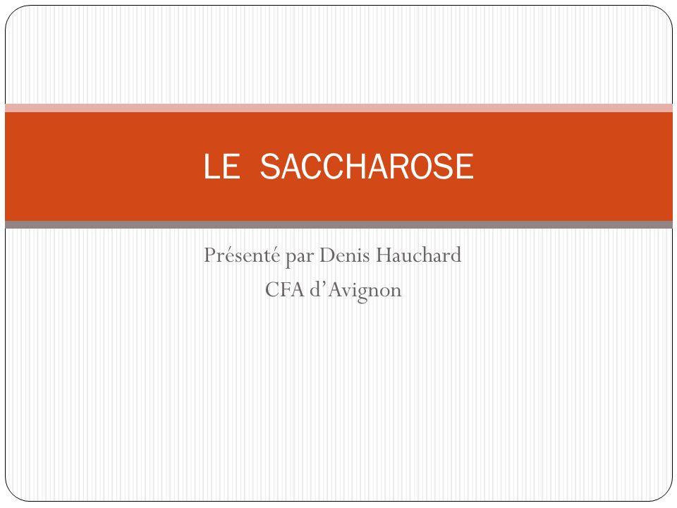 Présenté par Denis Hauchard CFA d'Avignon