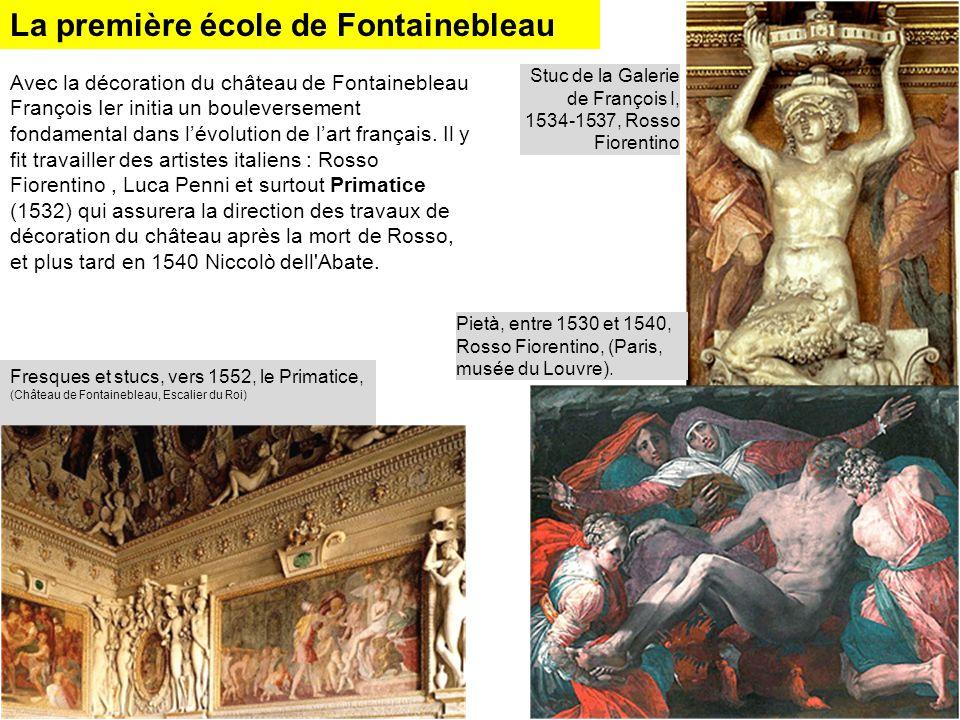 La première école de Fontainebleau