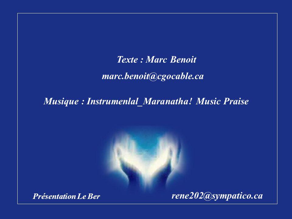Musique : Instrumenlal_Maranatha! Music Praise
