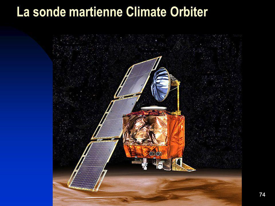 La sonde martienne Climate Orbiter