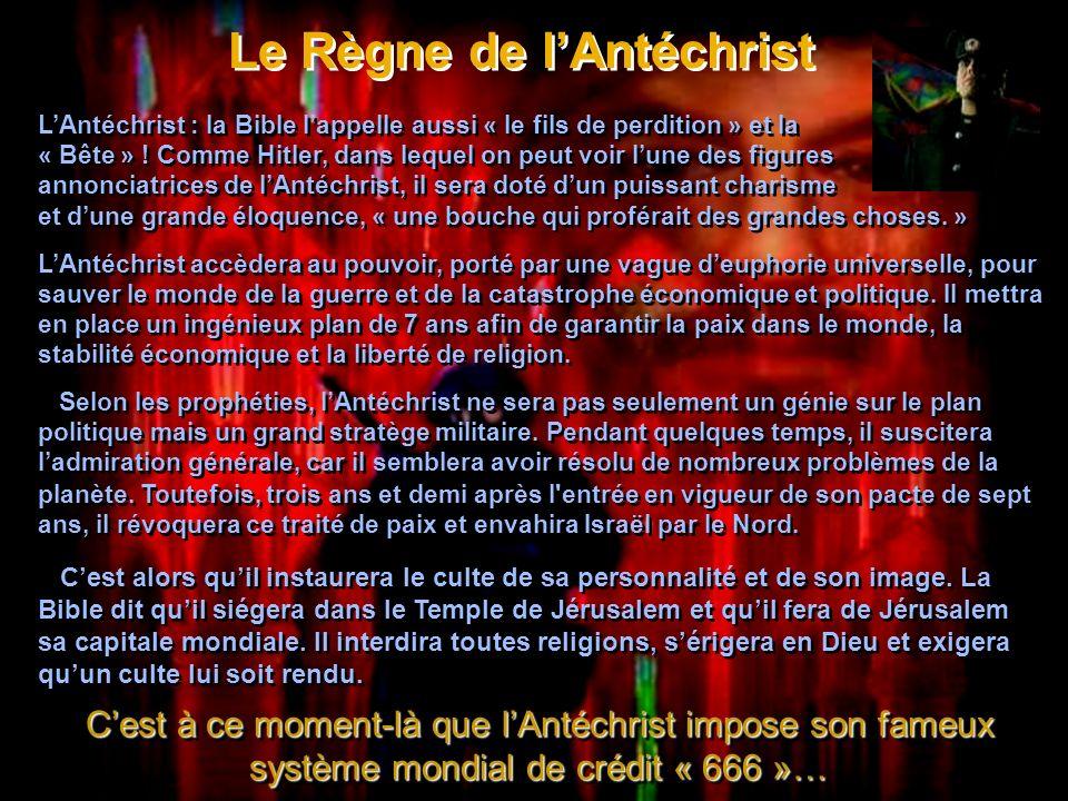 Le Règne de l'Antéchrist