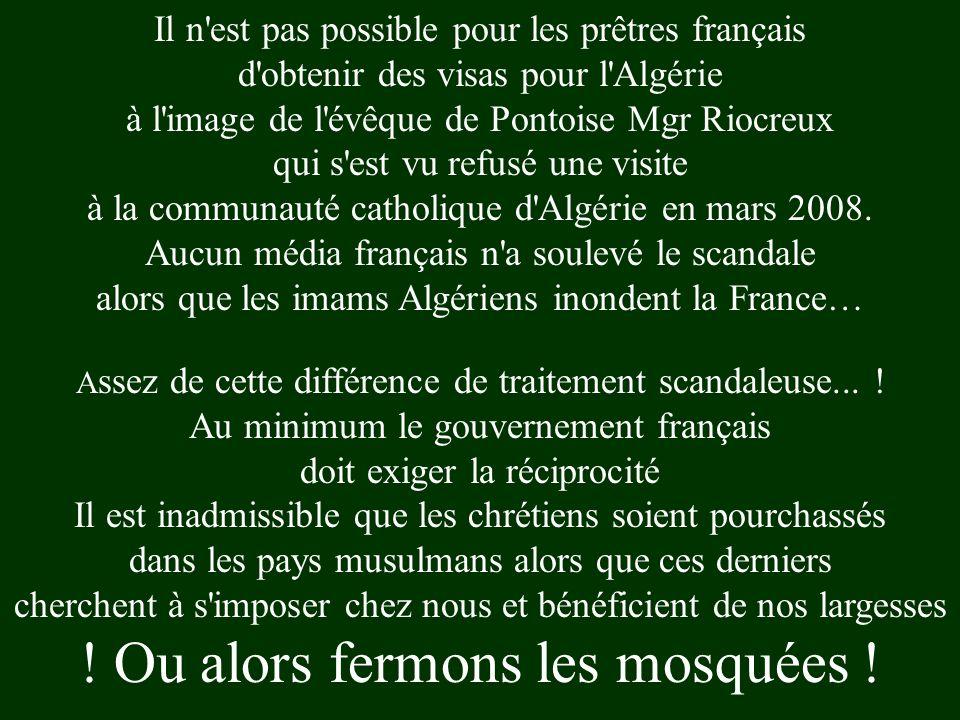 Il n est pas possible pour les prêtres français