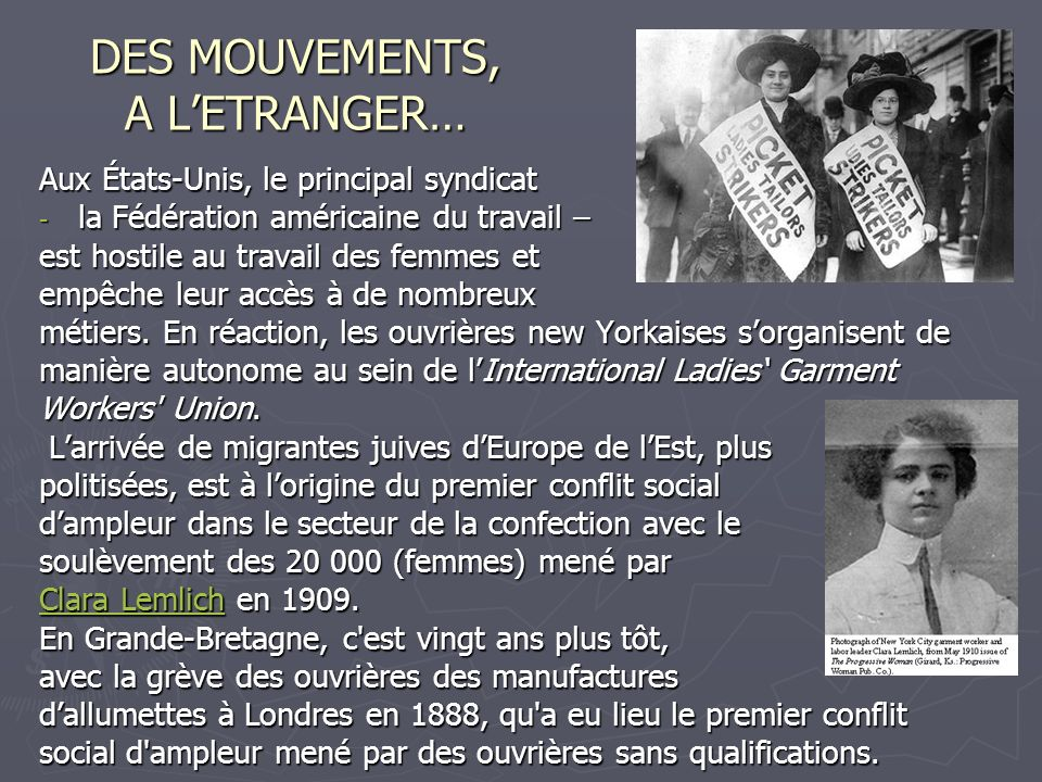 DES MOUVEMENTS, A L'ETRANGER…