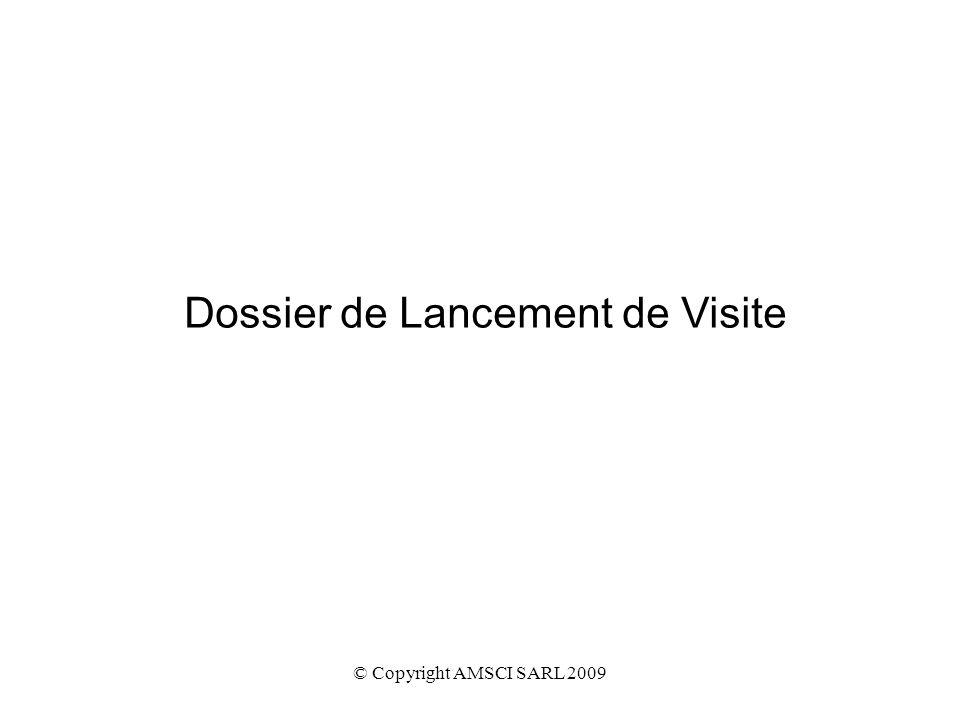 Dossier de Lancement de Visite
