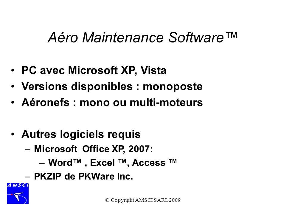 Aéro Maintenance Software™