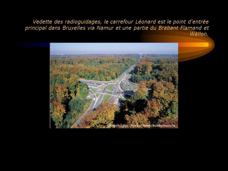 Vedette des radioguidages, le carrefour Léonard est le point d entrée principal dans Bruxelles via Namur et une partie du Brabant Flamand et Wallon.