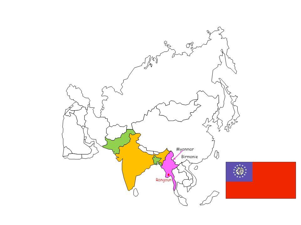 Myanmar Birmanie Rangoun