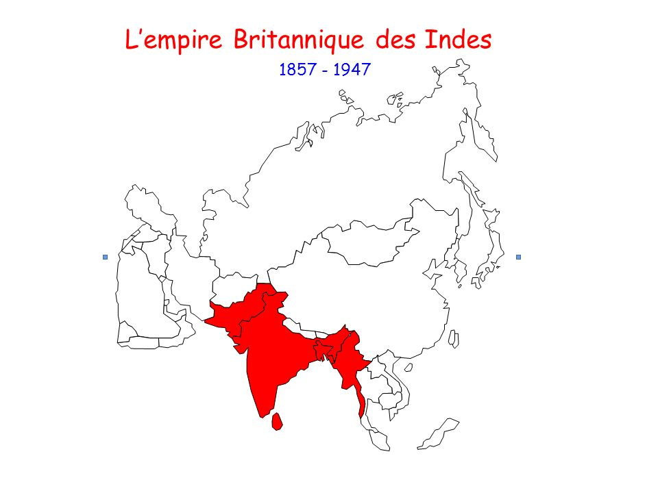 L'empire Britannique des Indes