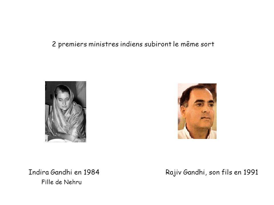 2 premiers ministres indiens subiront le même sort