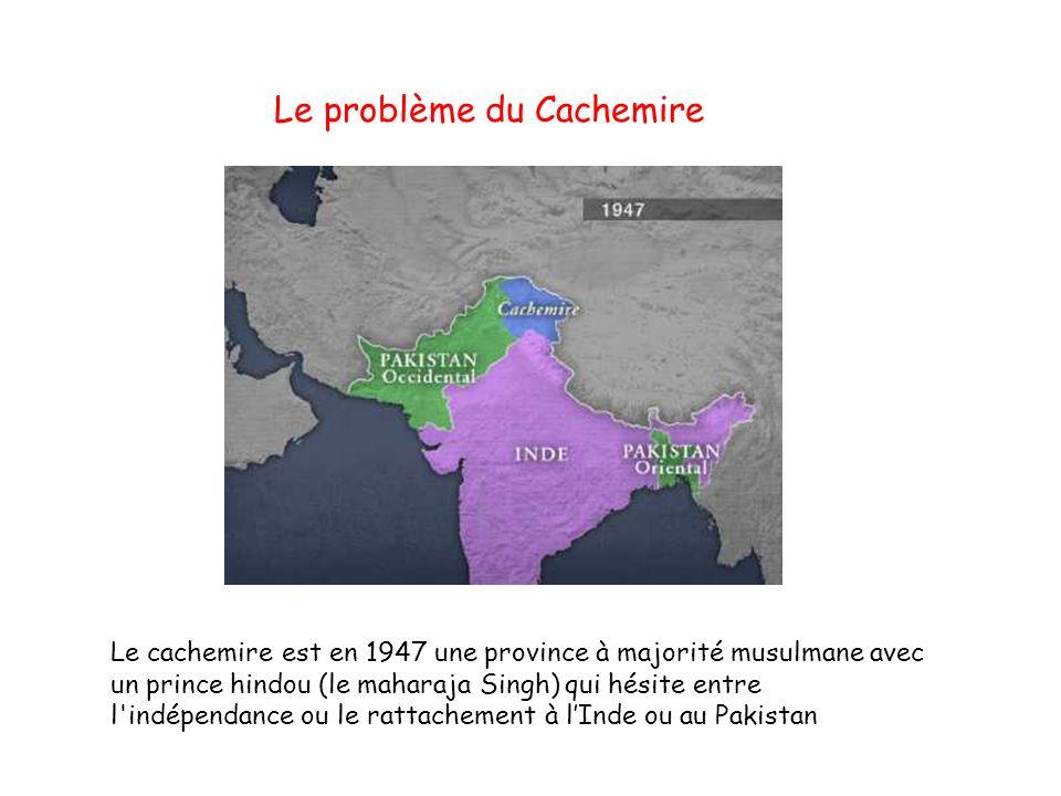 Le problème du Cachemire