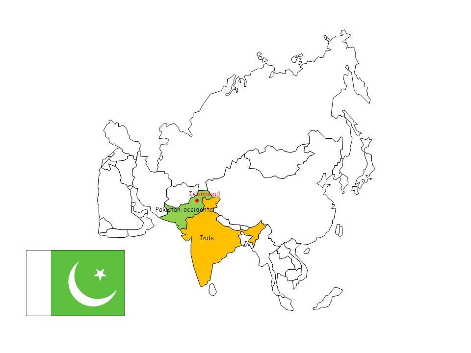 Islamabad Pakistan occidental Inde