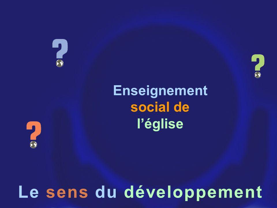 Le sens du développement