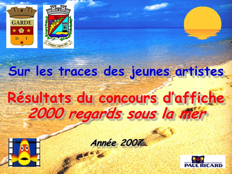 Sur les traces des jeunes artistes Résultats du concours d'affiche