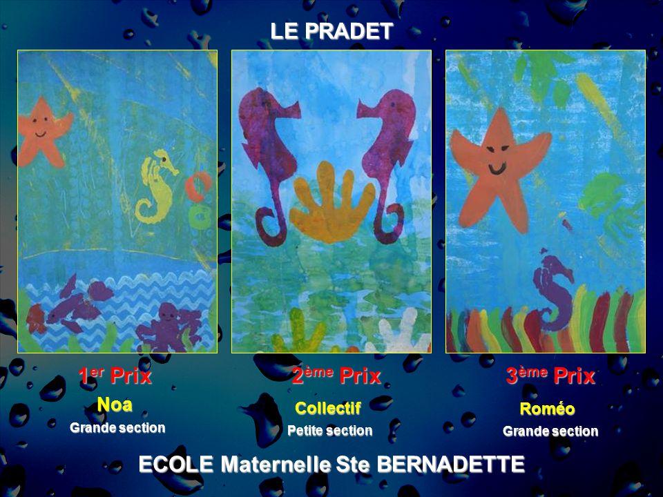 ECOLE Maternelle Ste BERNADETTE