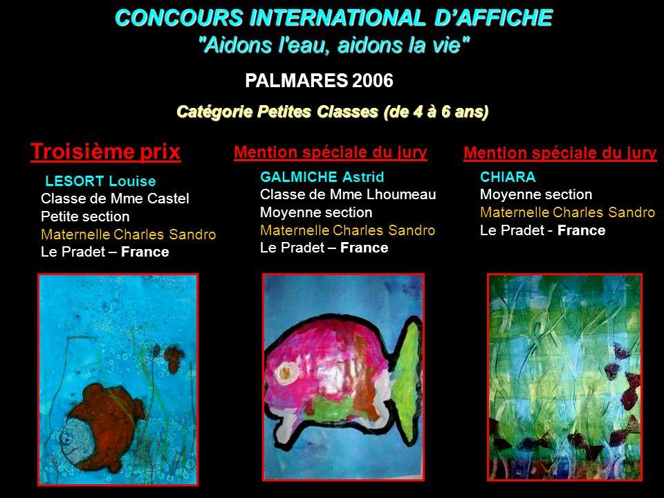 CONCOURS INTERNATIONAL D'AFFICHE