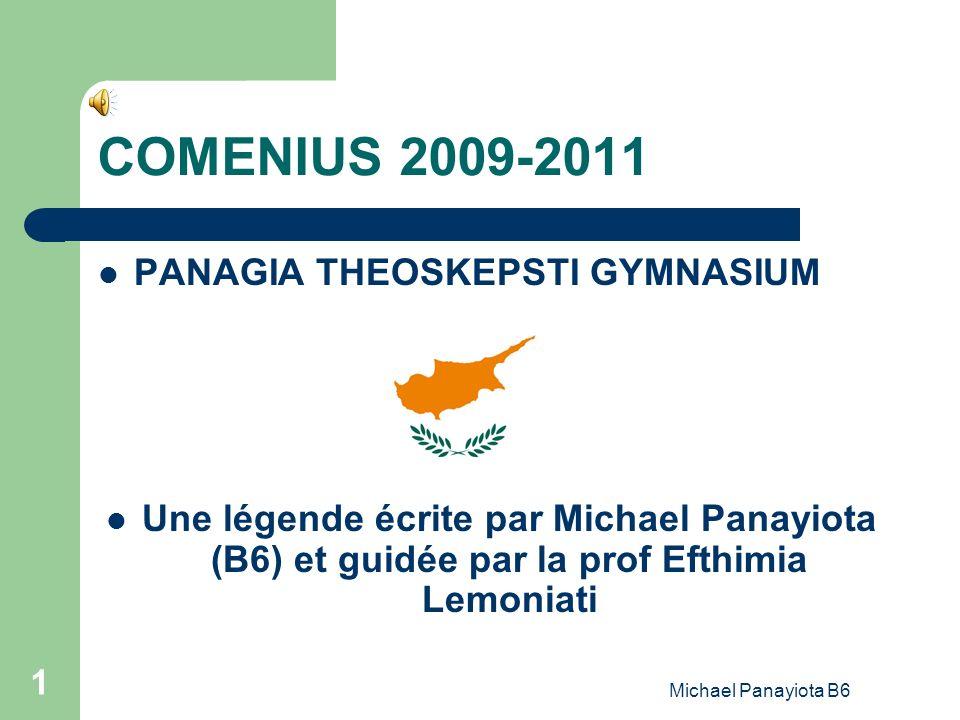 COMENIUS 2009-2011 PANAGIA THEOSKEPSTI GYMNASIUM