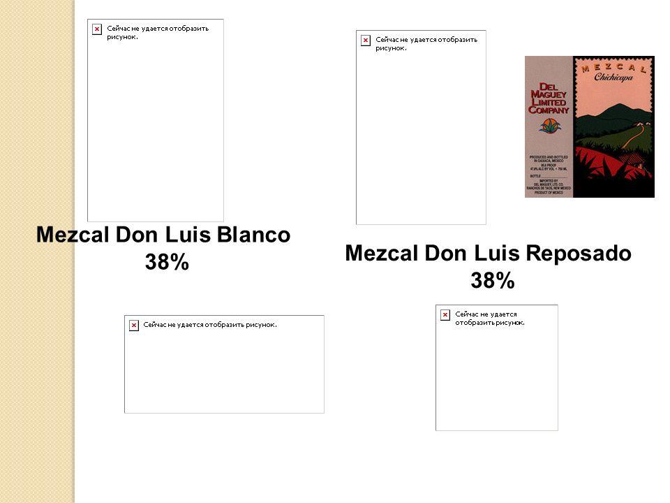 Mezcal Don Luis Reposado