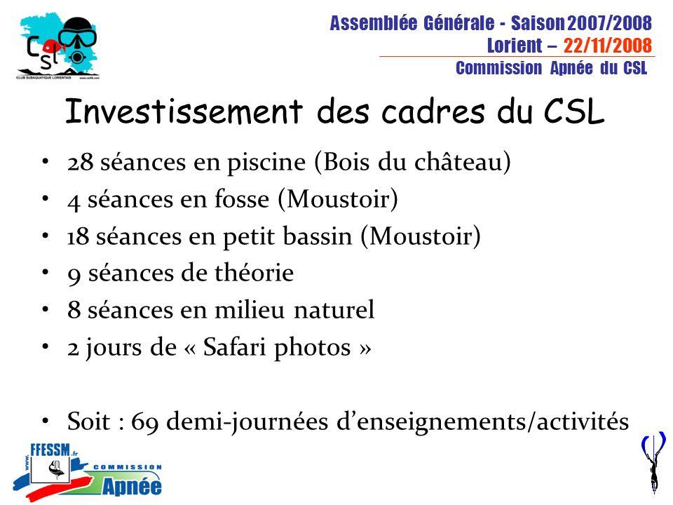 Investissement des cadres du CSL