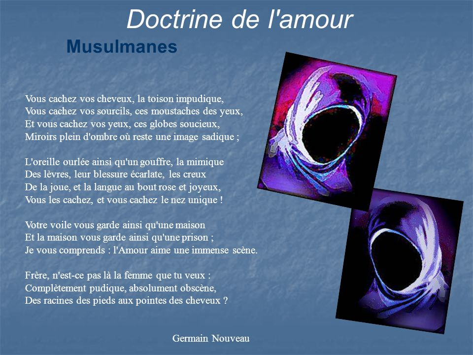 Doctrine de l amour Musulmanes