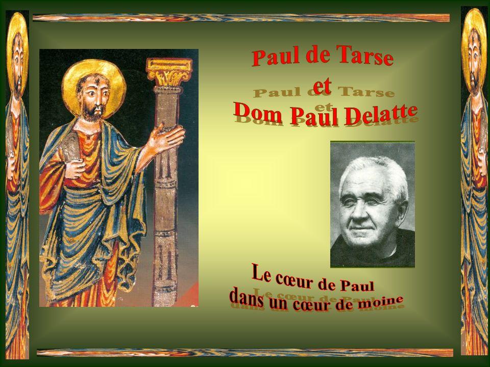 Le cœur de Paul dans un cœur de moine
