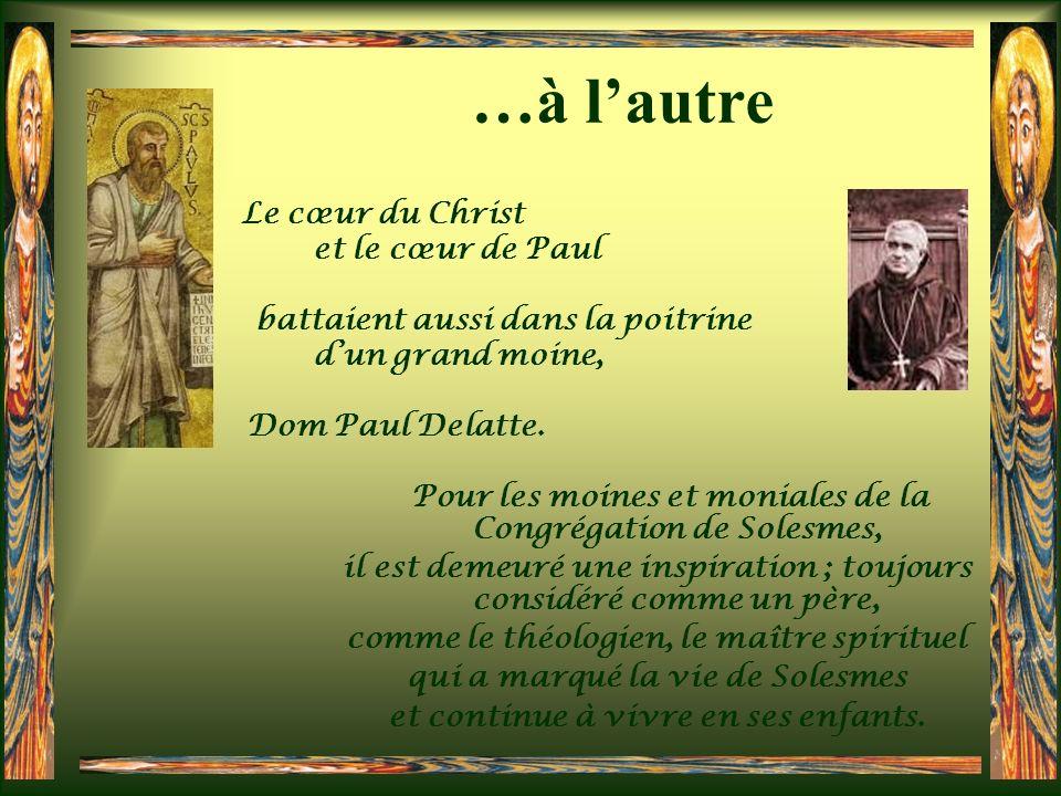 …à l'autre et le cœur de Paul battaient aussi dans la poitrine