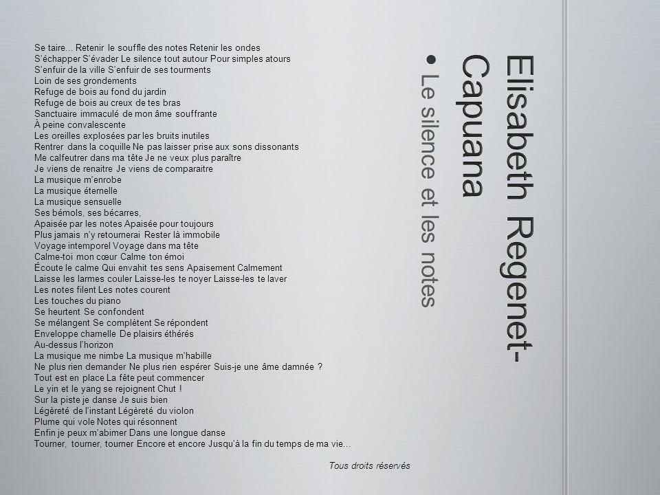 Elisabeth Regenet-Capuana