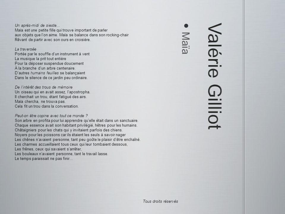 Valérie Gilliot Maïa Un après-midi de sieste...
