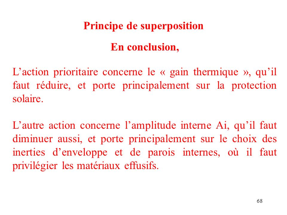 Principe de superposition