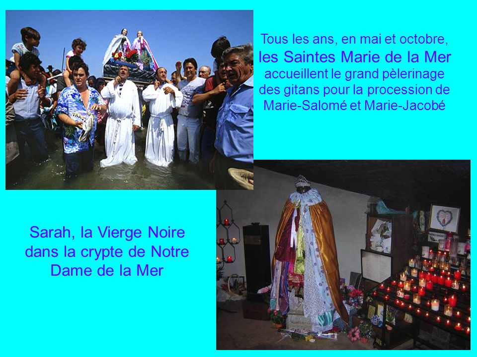 Sarah, la Vierge Noire dans la crypte de Notre Dame de la Mer