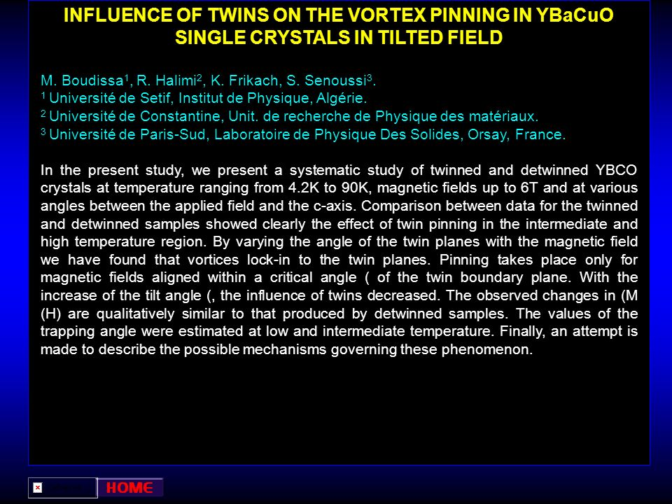 INFLUENCE OF TWINS ON THE VORTEX PINNING IN YBaCuO SINGLE CRYSTALS IN TILTED FIELD