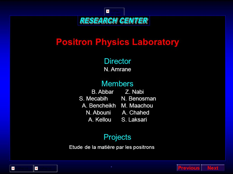Positron Physics Laboratory