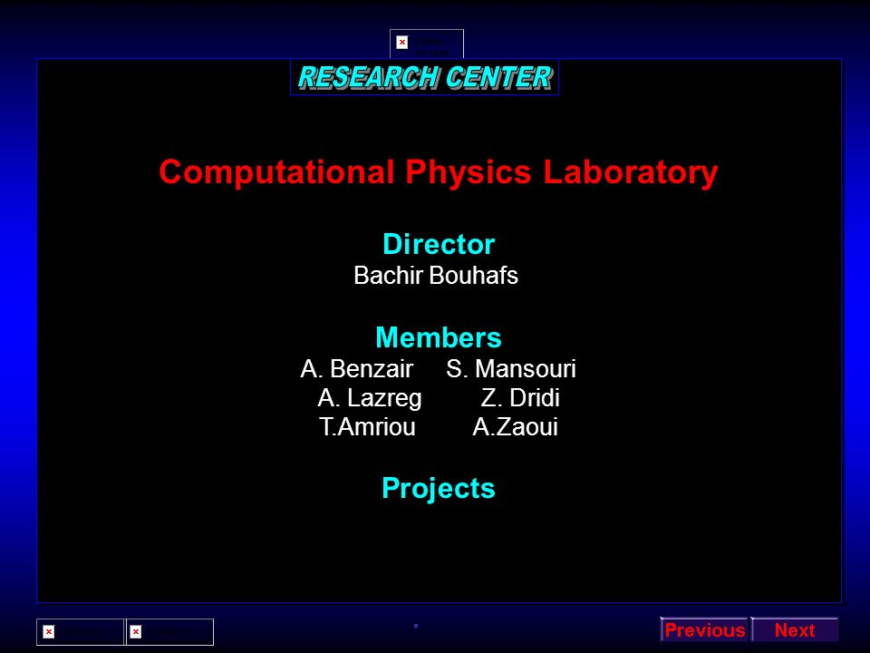 Computational Physics Laboratory