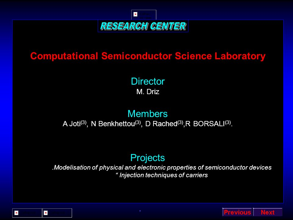 Computational Semiconductor Science Laboratory