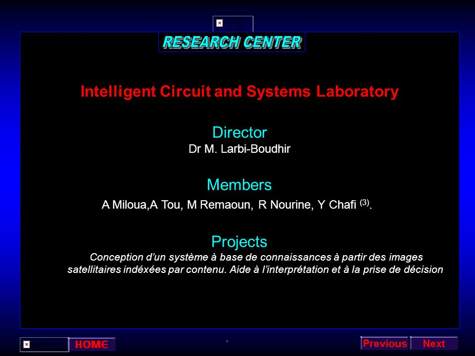 Intelligent Circuit and Systems Laboratory