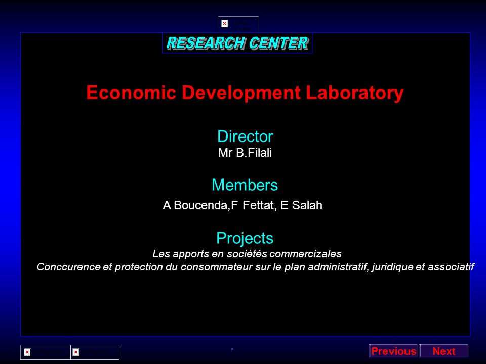 Economic Development Laboratory