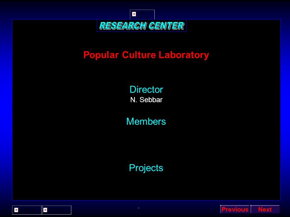 Popular Culture Laboratory