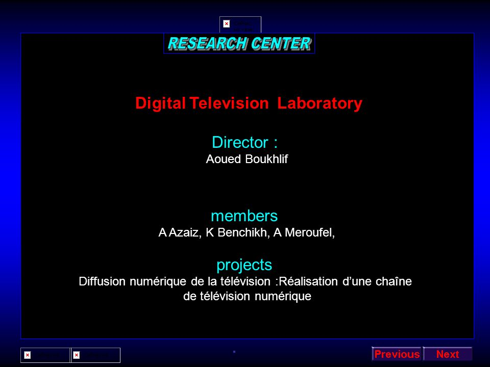 Digital Television Laboratory