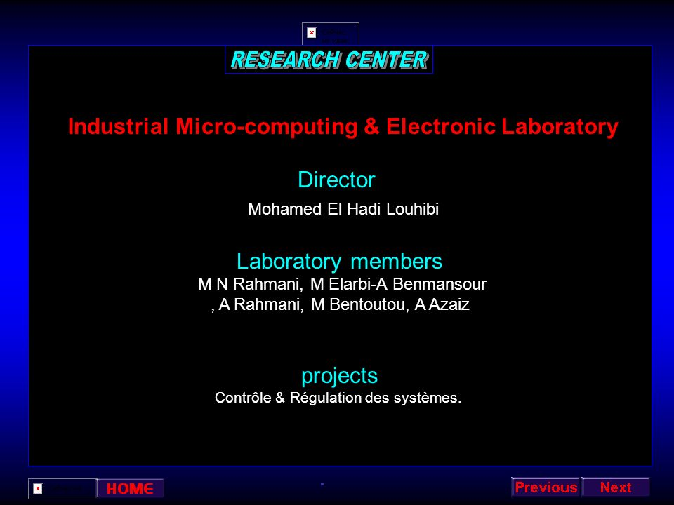 Industrial Micro-computing & Electronic Laboratory