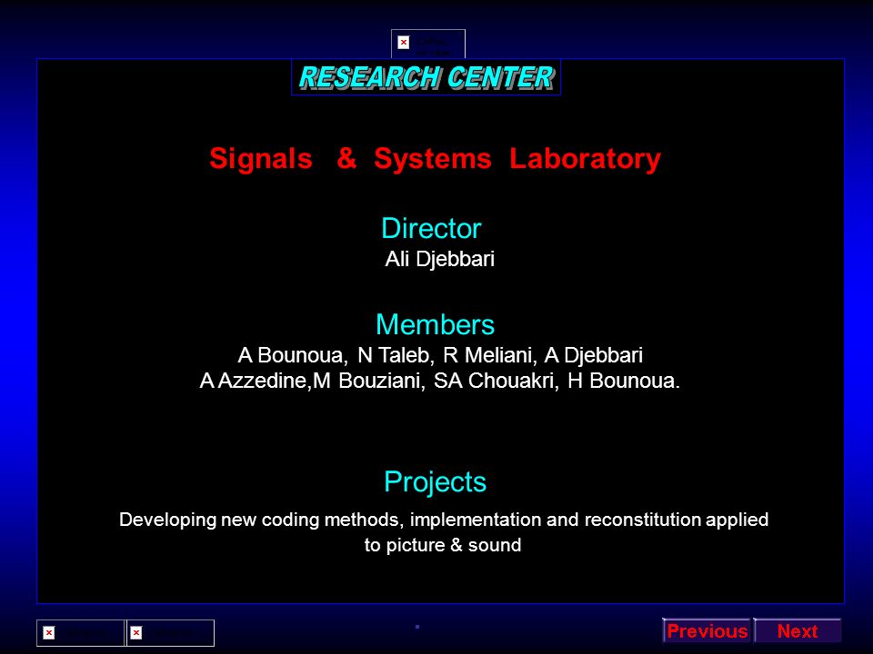 Signals & Systems Laboratory