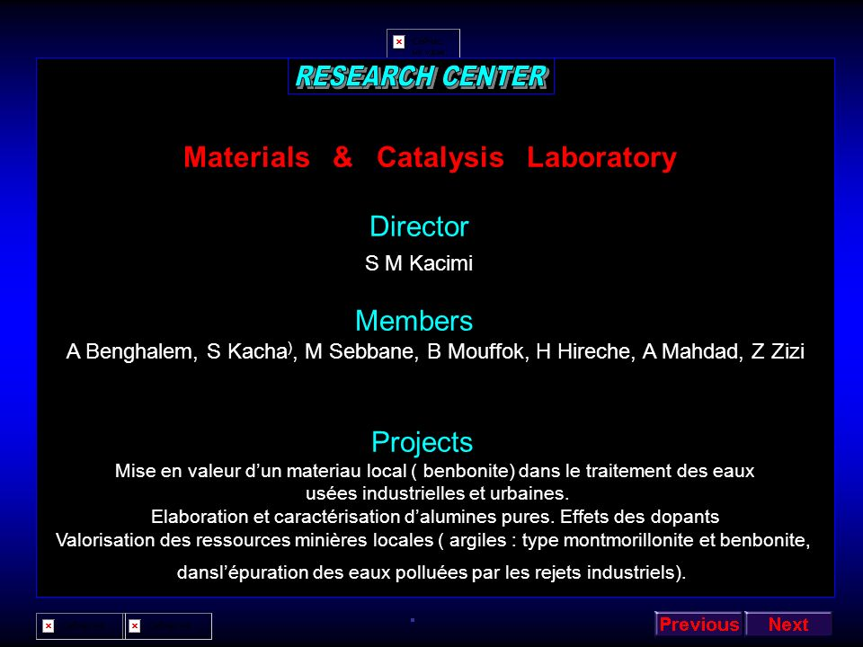 Materials & Catalysis Laboratory
